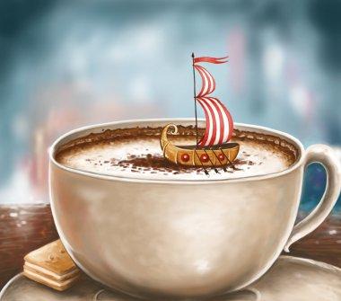 Frothy Cappuccino Dreams