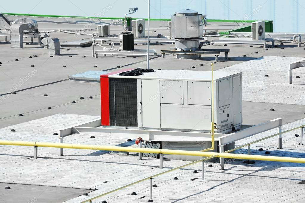 Commercial Ventilation Systems : Industrial ventilation system — stock photo unkas