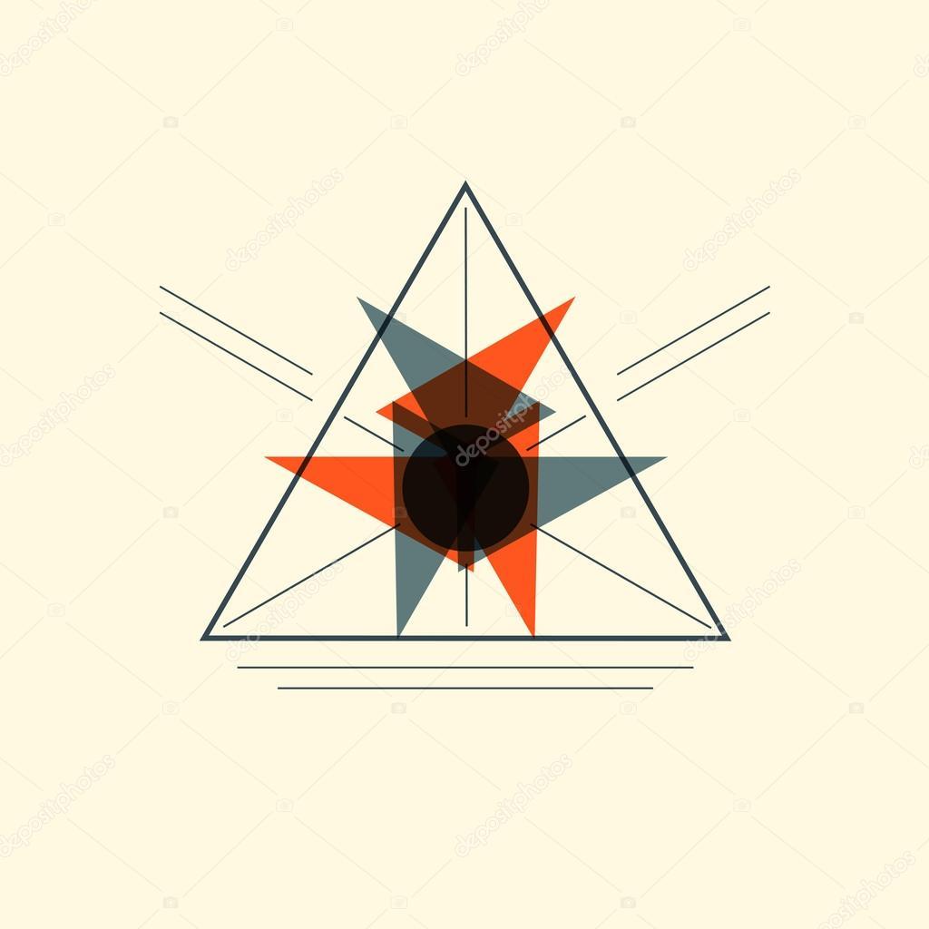 Vectores Para Portadas Png Muestra Del Triángulo De Origami