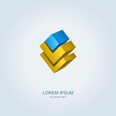 Stylized business logo