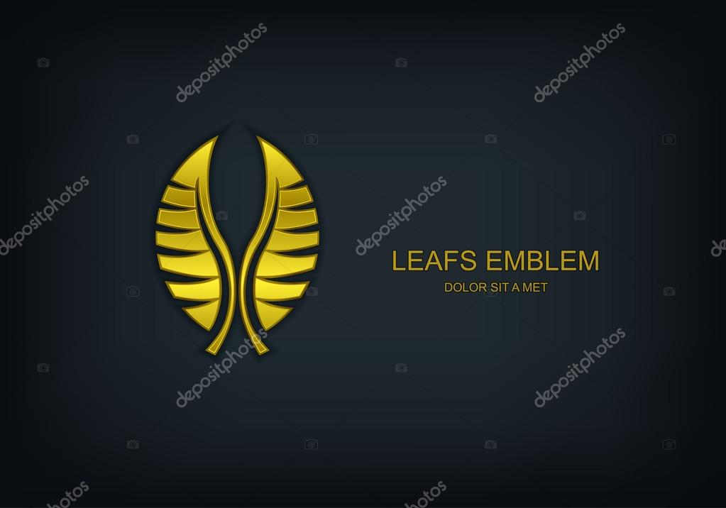 Leafs logo, Ecology nature