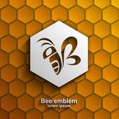 Fényképek Méh logo design sablonok