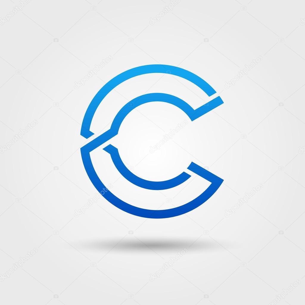 C Logo: Stock Vector © Dendiz #73833241