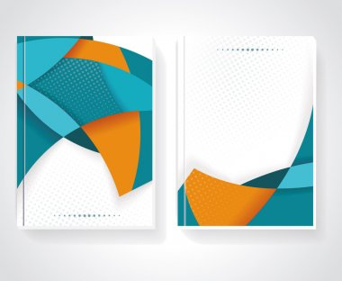 Geometric design business brochures
