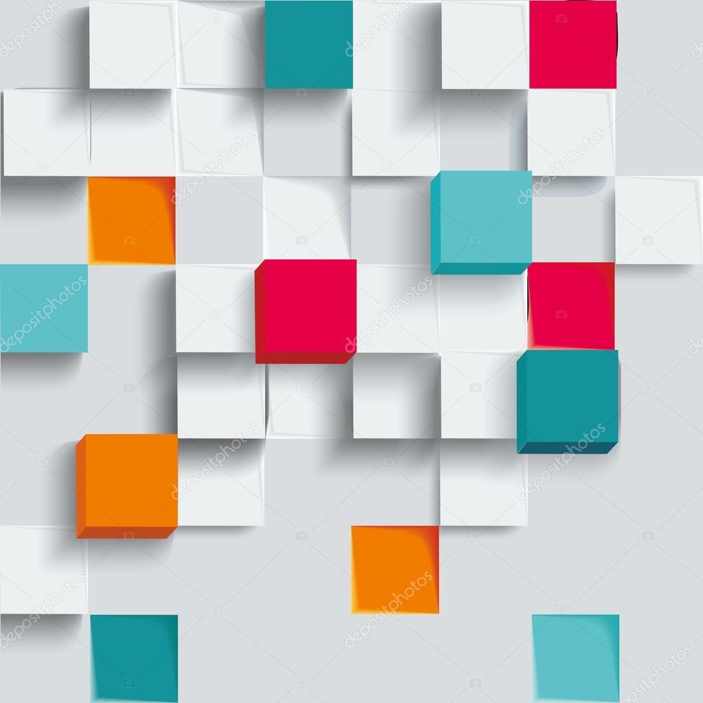 Moderne Infografiken Quadrate Vorlage für Business entwerfen ...