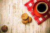 Pohár osvěžující kávy