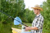 Fotografie letní rybaření