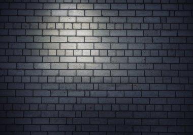 Brick blank wall