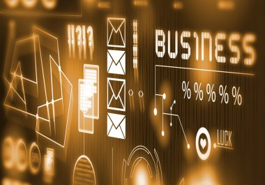Innovative technologies Digital background
