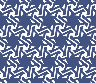Geometric abstract seamless pattern background. Oriental, asian,