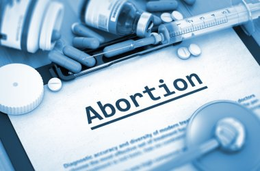 Abortion. Medical Concept.