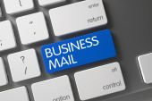 Business Mail Button.