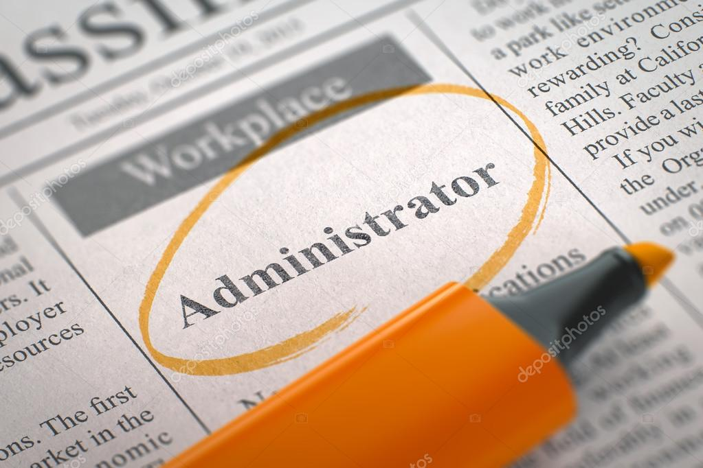 Image result for hiring administrator