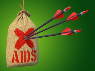 AIDS - Arrows Hit in Red Mark Target.