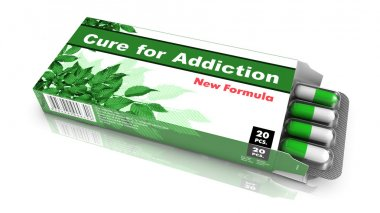 Cure for Addiction - Pack of Pills.