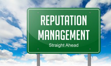 Reputation Management on Highway Signpost.