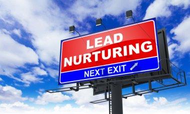 Lead Nurturing on Red Billboard.