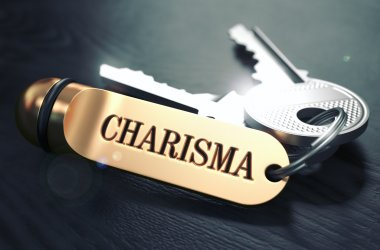Charisma Concept. Keys with Golden Keyring.