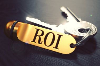 ROI written on Golden Keyring.