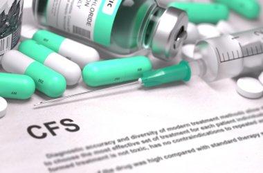 CFS Diagnosis. Medical Concept.