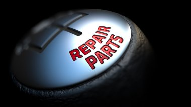 Repair Parts with Red Text on Gear Stick.