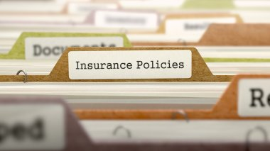 Folder in Catalog Marked as Insurance Policies.