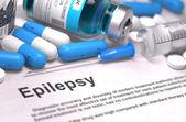 Diagnosis - Epilepsy. Medical Concept. 3D Render.
