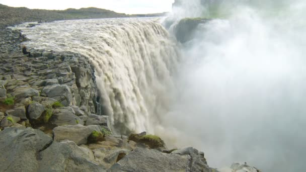 Vodopády Dettifoss v severní části Islandu