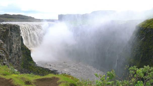 Dettifoss vodopád v národním parku Vatnajokull