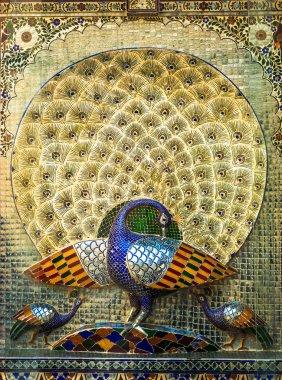 Udaipur City Palace Peacocks