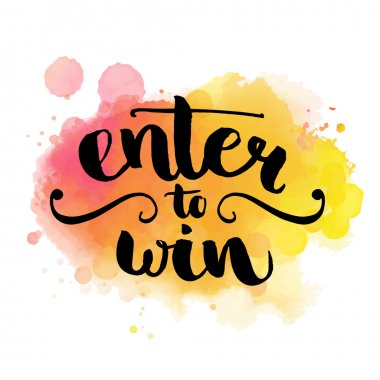 Giveaway banner for social media contests