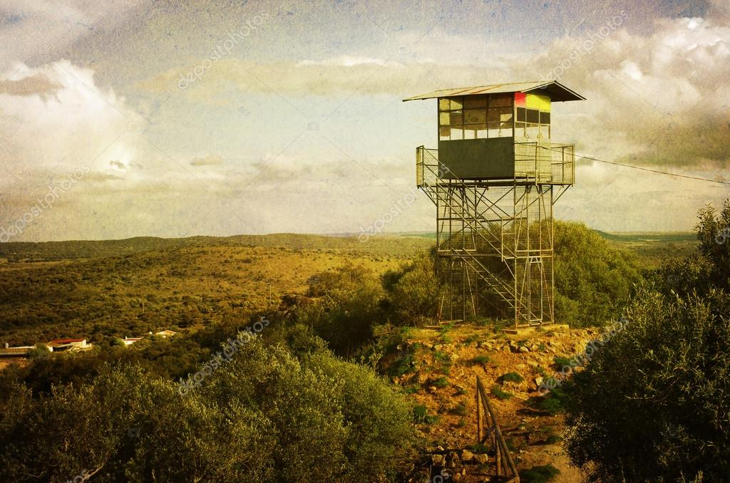 Observation Tower in the hills