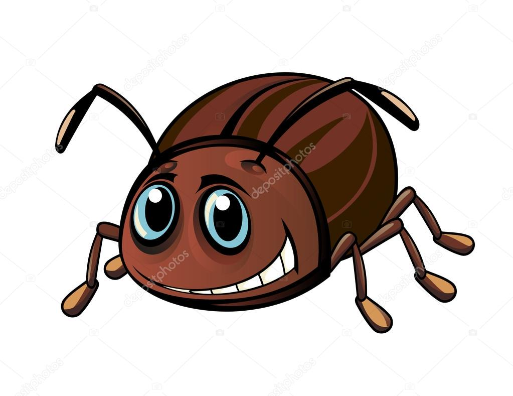 how to draw a cute beetle