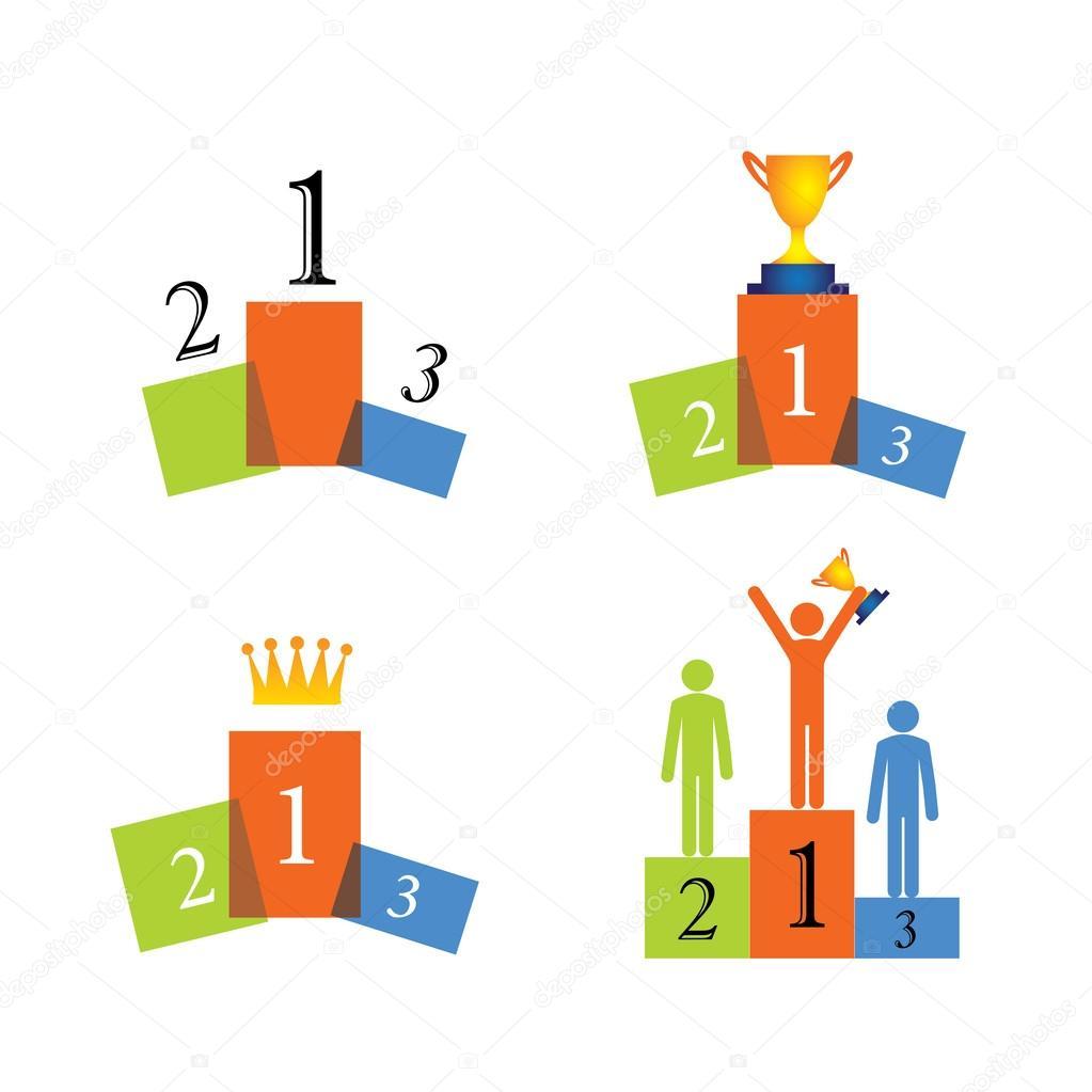koncepcja wektorowe ikony zwyci u0119zca  podium  sukces podium image clipart winners podium clipart