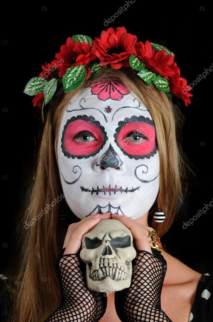 maquillaje mascara mexicana