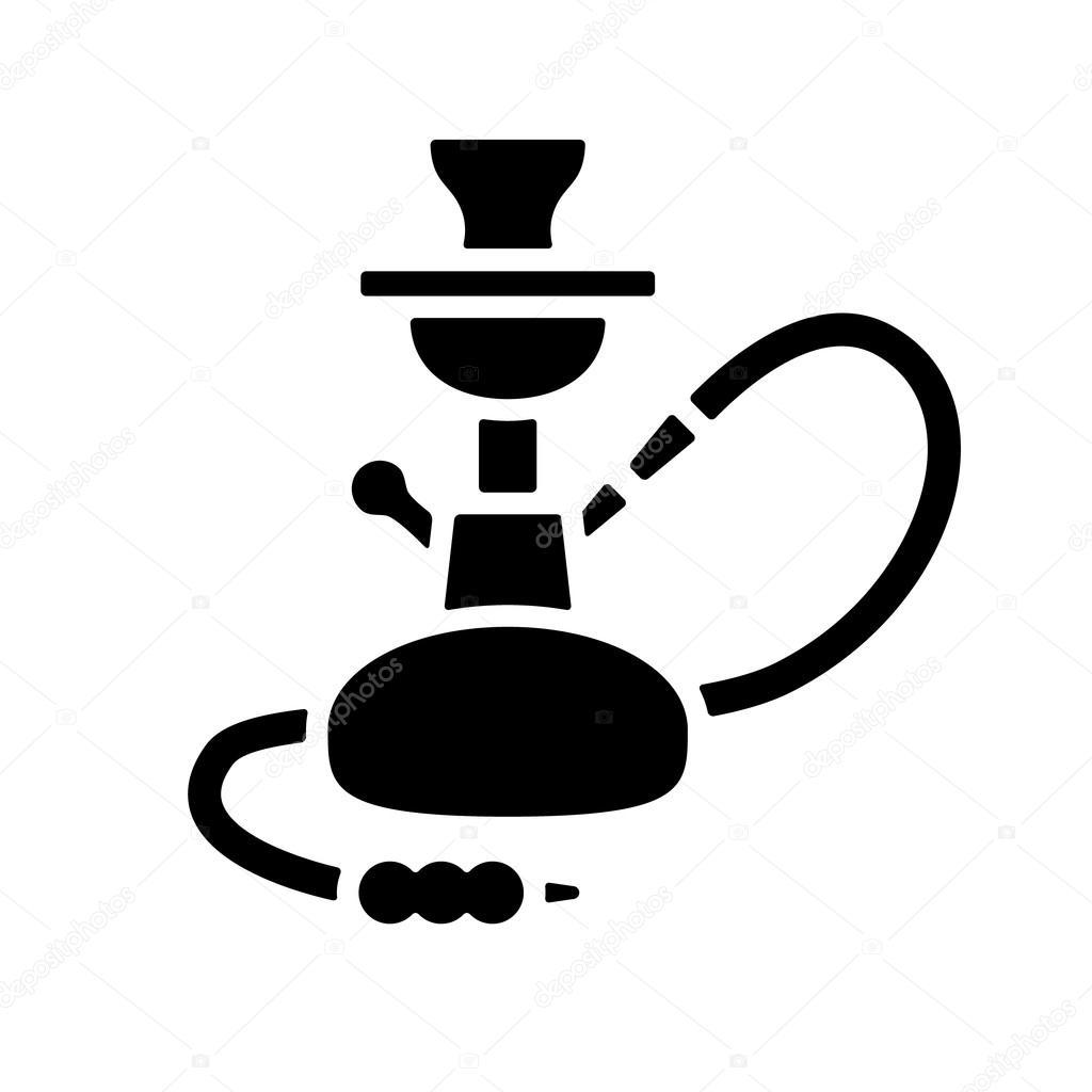 icono de la cachimba archivo im u00e1genes vectoriales hookah vector free hookah vector image