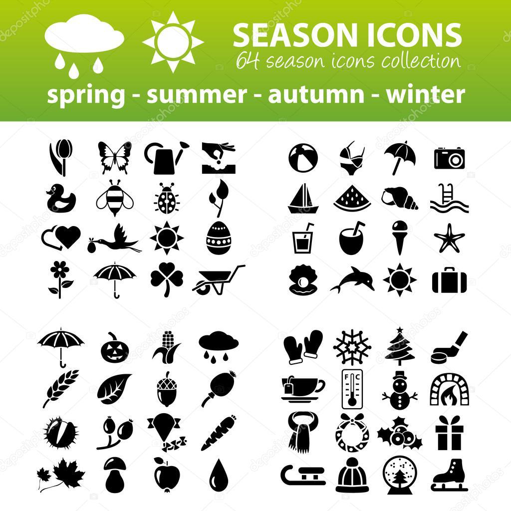 season icons