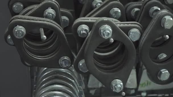 Mnoho kulatých gumových těsnění pro výfukový systém