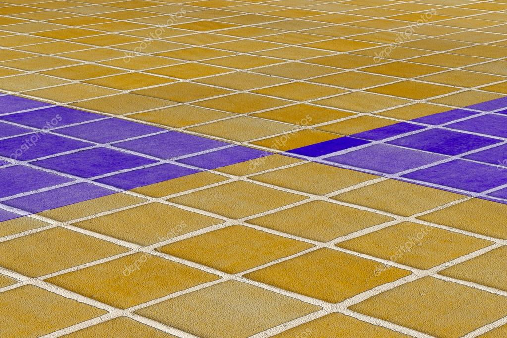 Pavimento In Piastrelle Di Ceramica Smaltata : Primo piano del pavimento di piastrelle di ceramica smaltata