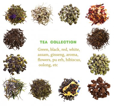 Different tea collection