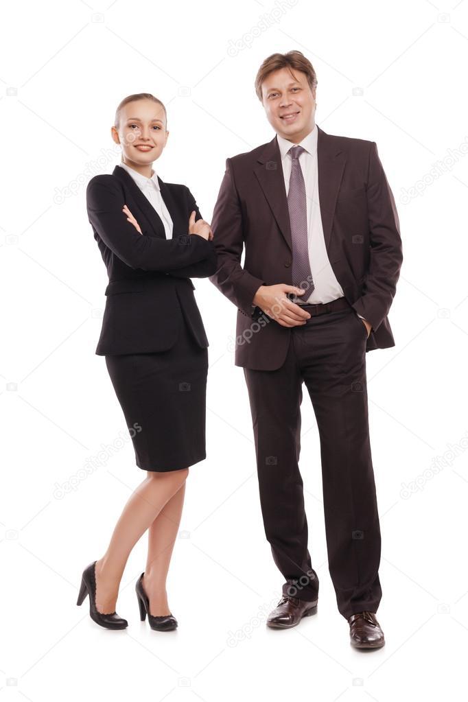 Traje formal de una mujer