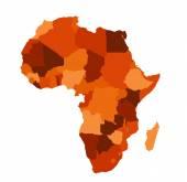 Fotografie Africa map