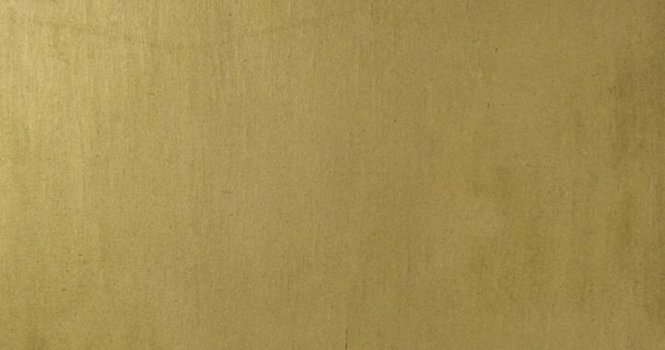 Zoom golden background. Top view. Gold paint