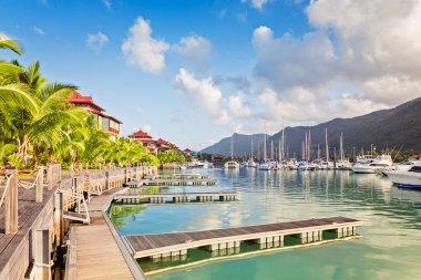Eden island, Mahe, Seychelles