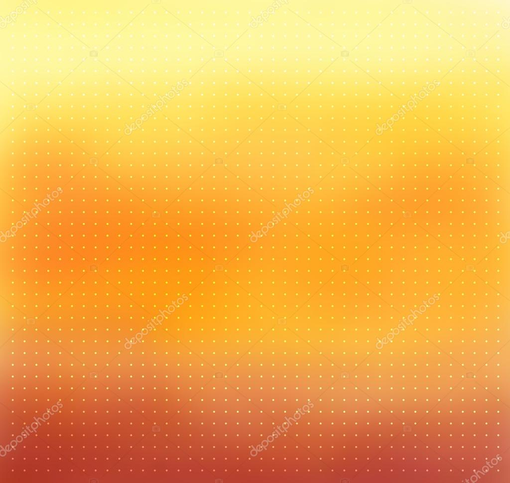 Couleur jaune-orange flou fond de vecteur — Image vectorielle ...