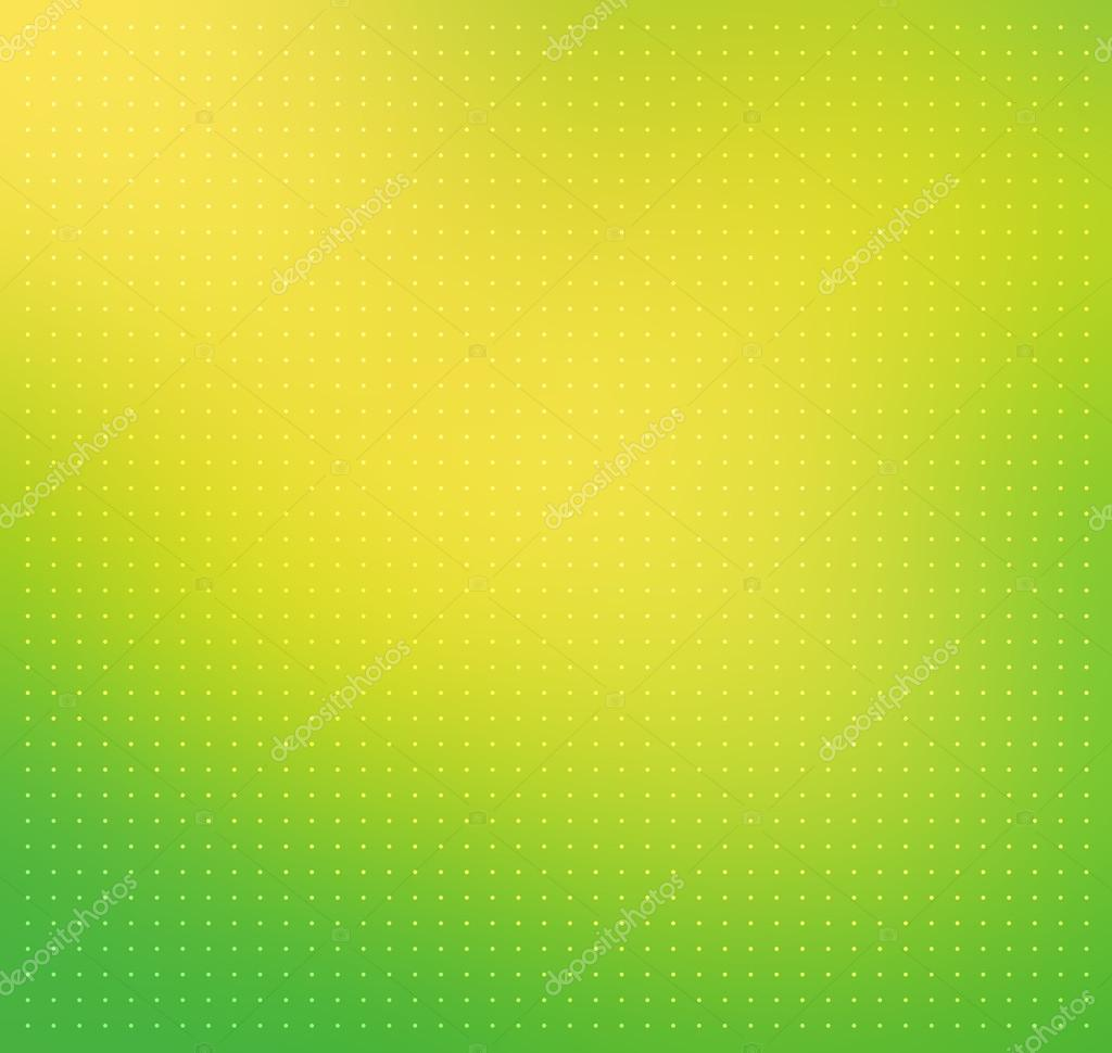 Green-yellow Color Blurred Vector Background