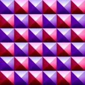 Fotografie Colorful pyramids seamless vetor pattern