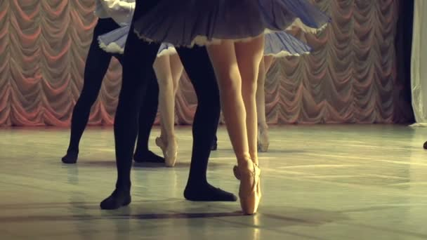 Couples Dancing in the Ballet Stage