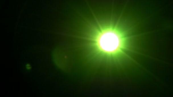 Podivné blikající světlo.