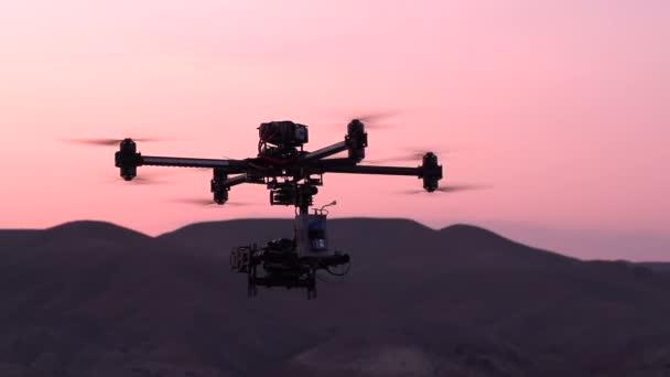 Quadrocopter in  Exploration Area
